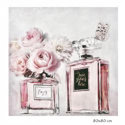 """"""" Roses et parfum """",Tableau..."""