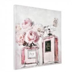 """"""" Roses et parfum """",Tableau contemporain floral"""