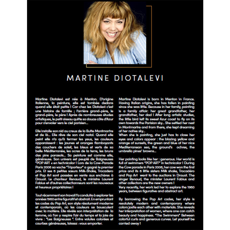 """DI RASPODIE "", tableau plexi design de Martine DIOTALEVI"