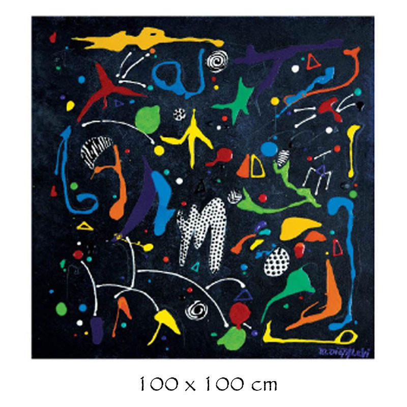 """DI ENERGY "", tableau plexi design de Martine DIOTALEVI"
