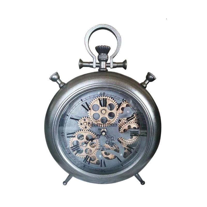 """Horloge """" Engrenages """", à poser"""