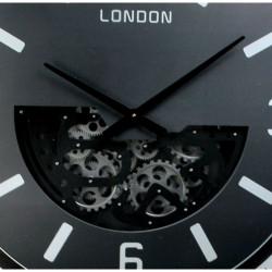 """Horloge design """" London """", engrenages, 108 cm"""
