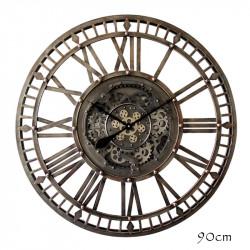 """Horloge industrielle """"..."""