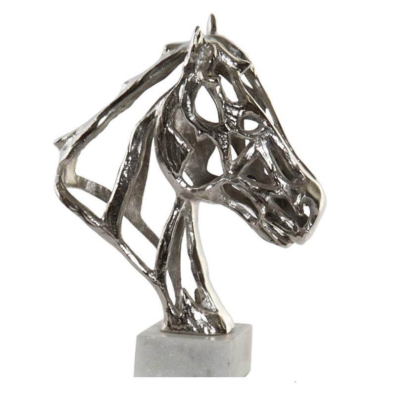 """"""" Tête de cheval """", Statuette déco design"""