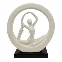 """ Femme yoga "", statuette..."