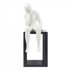 """"""" Le penseur """", statuette..."""