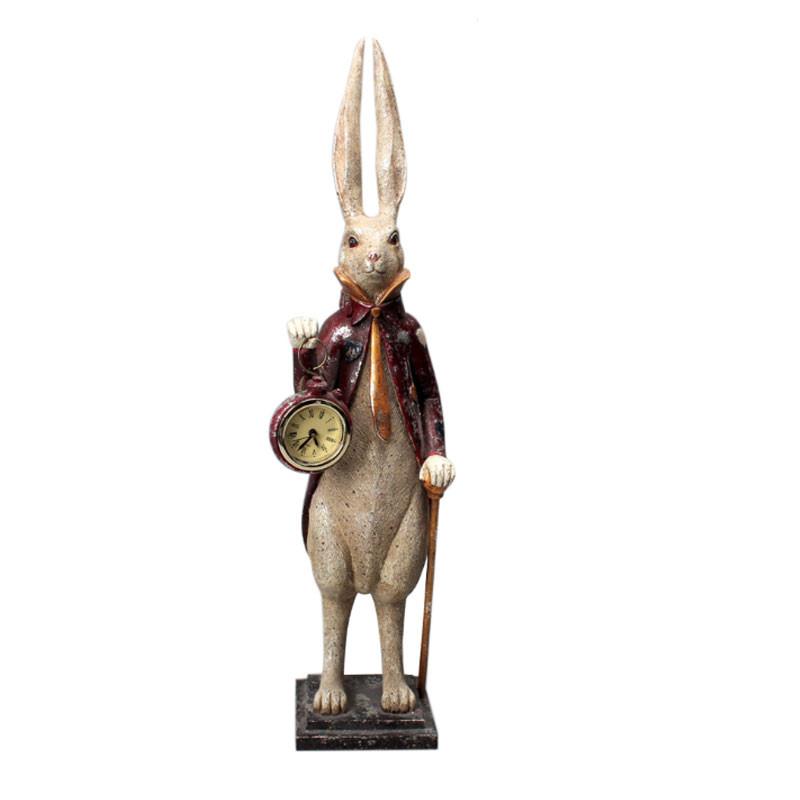 """ Lapin gentleman "", statuette design"