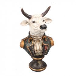 """"""" Buste de taureau Napoléon"""", statuette design"""