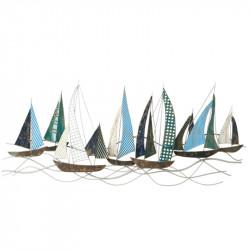 """"""" Voiliers bleus en mer """",..."""