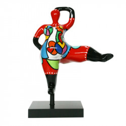 """ Big star, Flamboyante "", statuette design de Déesse"