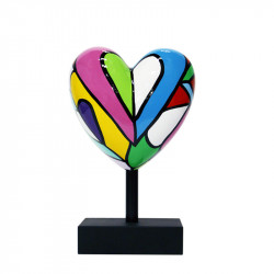 """ Lovely "", sculpture MISSIVE HEART par déesse"