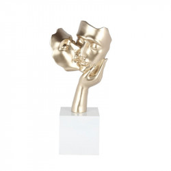 """Couple, Le baiser, champagne"",Sculpture,statue contemporaine"