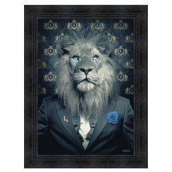 """ LION FASHION bleu "", de..."