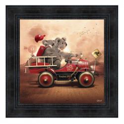 """"""" KOALA FIRE """", de Sylvain..."""