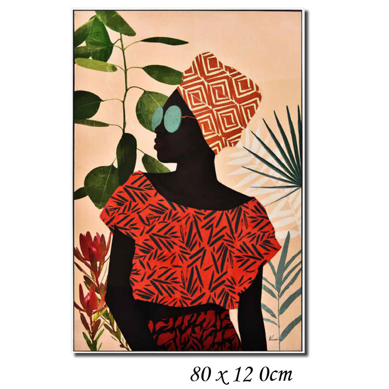 """""""Femme africaine mode """", Tableau contemporain design"""