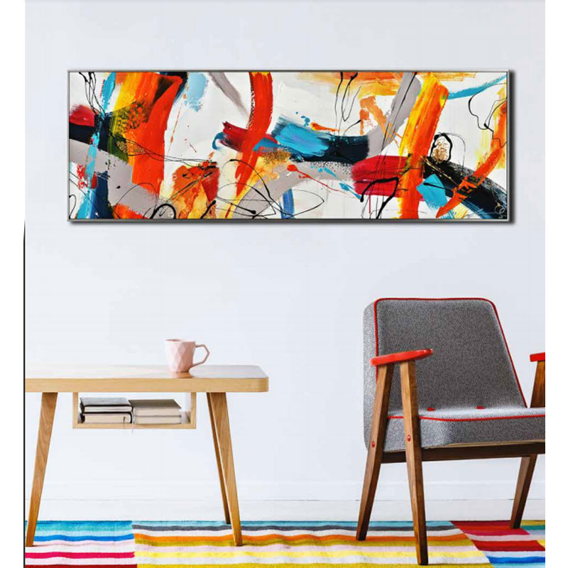 """"""" Explosion de couleurs """", tableau contemporain abstrait"""