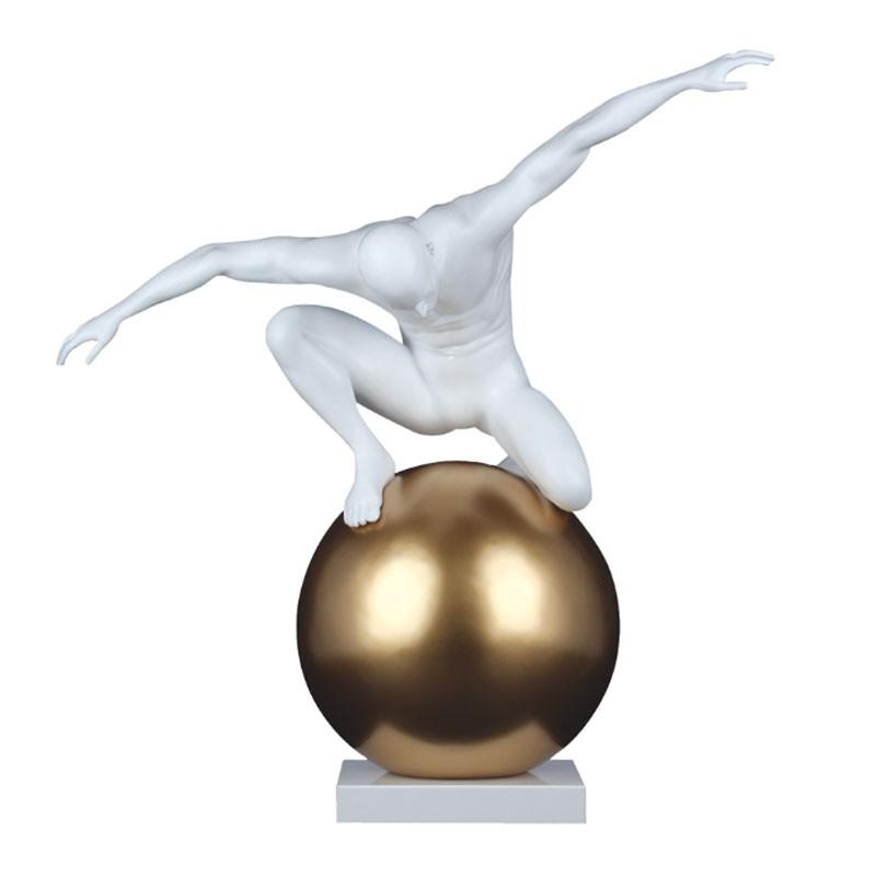 """""""L'homme et le monde """", statuette design 64 cm"""