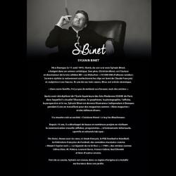 """"""" Bouche bleue chrono """", Tableau design SYLVAIN BINET,80x80cm"""