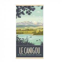 """""""Le Canigou"""", Kakémono..."""