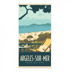 """""""Argelès sur mer"""", Kakémono..."""