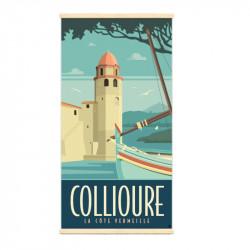 """Collioure"", Kakémono..."