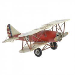"""""""Avion biplan rouge"""",..."""