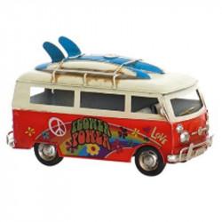 """"""" Van-combi rouge hippie"""",..."""