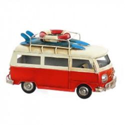 """"""" Van rouge surf"""", Véhicule..."""
