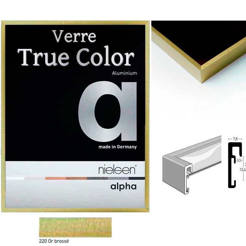 Cadre Nielsen photo - ALPHA TRUE COLOR alu