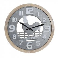 """""""Coq à la ferme"""", horloge..."""