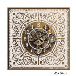 Horloge vintage engrenages...