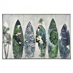 """ Planches de surf tropicales "", tableau contemporain,80x120"