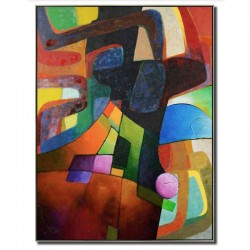 """ Abstrait multicolore..."