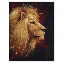 """"""" Tête de lion dorée """",..."""