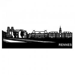 """""""RENNES """", Skyline, déco..."""