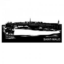"""SAINT MALO "", Skyline,..."