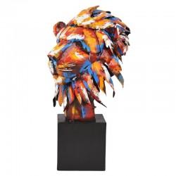 """"""" Tête de lion, Pigment"""",..."""