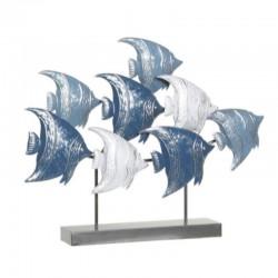 """""""Banc de poissons bleus"""",..."""