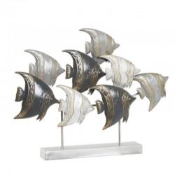 """""""Banc de poissons gris"""",..."""