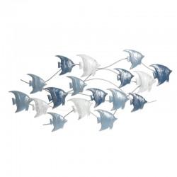 """""""Banc de poissons bleus et..."""