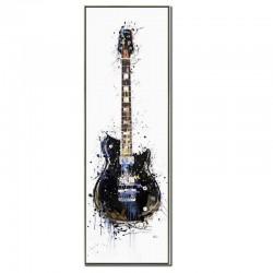 """""""Guitare électrique bleue..."""