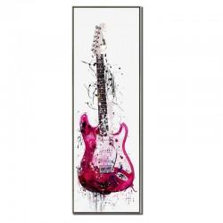 """"""" Guitare électrique rose..."""