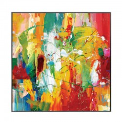 """Multicolore abstrait..."