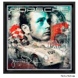 """""""James Dean Porsche 550..."""
