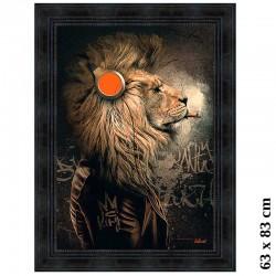 """""""Lion punk"""", Tableau..."""