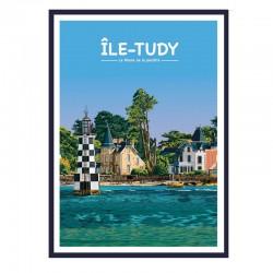 """""""L'île Tudy, phare des..."""