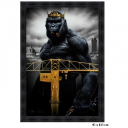 "Image encadrée ""Kong in..."