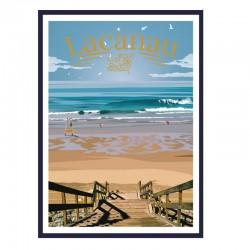 """""""Lacanau, surf & beach"""",..."""