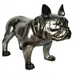Statuette taureau Noir