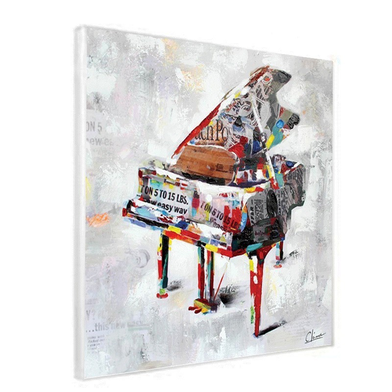 Tableau piano 80x80